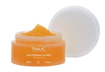 gel exfoliant au miel